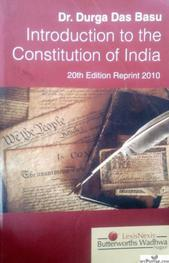 Introduction to the Constitution of India (English) 20th Edition