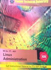 M. sc. IT - 401 Linux Administration