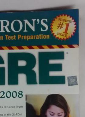 Barrons GRE 17TH Edition