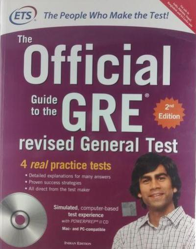 The Official guide to the GRE revised General Test 2nd Edition 4 Real Practice Test