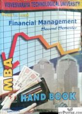 FINANCIAL MANAGEMENT SECOND SEMESTER HAND BOOK FOR MBA
