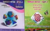 NARAYANA GROUP OF SCHOOL-INDIA KARNATAKA TARGET NTSE-2014 PACK OF 2 BOOKS