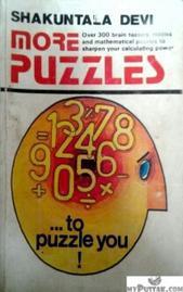 MORE PUZZLES BY SHAKUNTALA DEVI ENGLISH