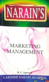 Marketing Management In English By RC Agarwal