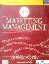 MARKETING MANAGEMENT (English) 11th Edition