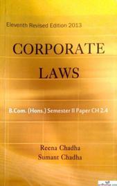 CORPORATE LAWS B.COM(HONS.) SEMESTER 2 PAPER CH 2.4