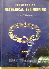 ELEMENTS OF MECHANICAL ENGINEERING (VTU)