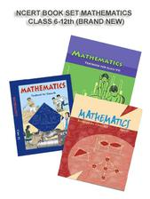 NCERT BOOK SET MATHEMATICS FOR CLASS- 6 TO 12 (ENGLISH MEDIUM) BRAND NEW