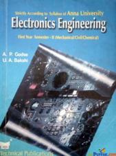 Electronics Engineering 1st Year semester 2 (mechanical/civil/chemical) By A P Godse, U A Bakshi