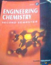 engineering chemistry second semester By Daniel yesudian