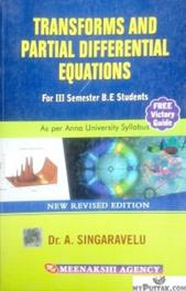 Transforms and Partial Differential Equations For 3rd Semester B.E. Students