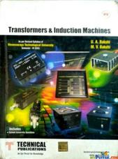 Transformers And Induction Machine By UA Bakshi