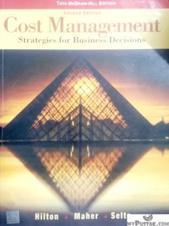 Cost Management Strategies for Business Decisions 2nd Edition
