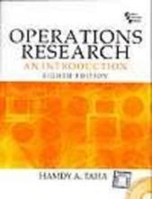 Operations Research An Introduction, 8/E
