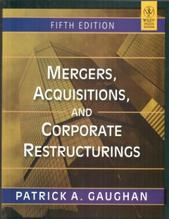 Mergers, Acquisitions, And Corporate Restructurings (English) 5th Edition