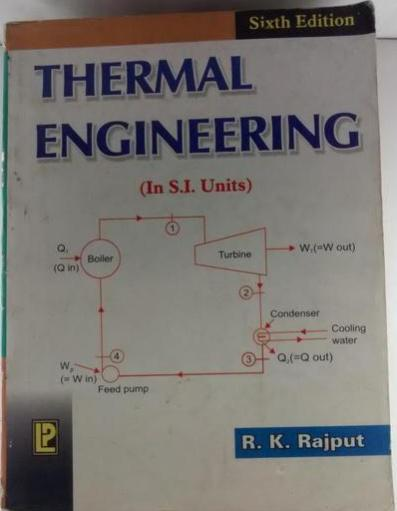 Thermal Engineering (In S.I. Units)