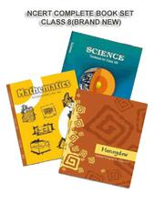 NCERT BOOK SET COMPLETE FOR CLASS -8 (ENGLISH MEDIUM) BRAND NEW