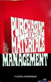 PURCHASE AND MATERIALS MANAGEMENT