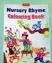 nursery rhyme colouring book By na