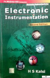 ELECTRONIC INSTRUMENTATION BY H S KALSI