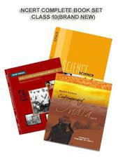 NCERT BOOK SET COMPLETE FOR CLASS -10 (ENGLISH MEDIUM) BRAND NEW