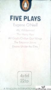 Five Plays (Ah, wilderness!, The Hairy ape, All gods Chillun Got wings, The emperor Jones, Desire Under The Elms)