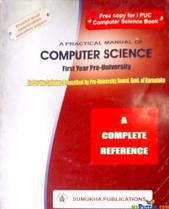 a practical manualc of computer science By pre university board,govt of karnataka
