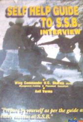 self help guide to s.s.b interview By u c sharma