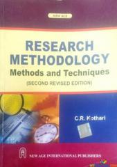 RESEARCH METHODOLOGY METHODS AND TECHNIQUES