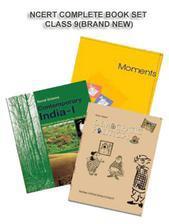 NCERT BOOK SET COMPLETE FOR CLASS -9 (ENGLISH MEDIUM) BRAND NEW