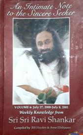 An Intimate note to the Sincere seeker Volume 6