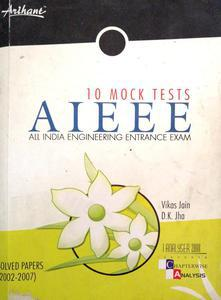 10 mock tests AIEEE Solved Papers (2002-2007)
