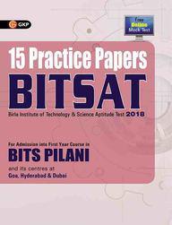 15 practice papers BITSAT