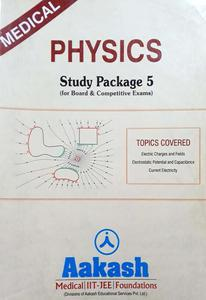 AAKASH PHYSICS STUDY MATERIAL FOR MEDICAL ENTRANCE  PACK OF 4 BOOKS IN ENGLISH