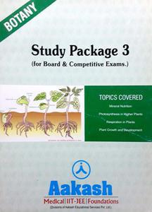 AAKASH BOTANY STUDY PACKAGE (FOR BOARD AND COMPETITIVE EXAM.) PACK OF 3 BOOKS IN ENGLISH