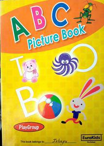 ABC picture book jeen in English language