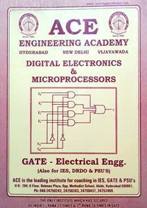 ACE ENGINEERING ACADEMY ELECTRICAL ENGINEERING GATE STUDY MATERIAL PACK OF 4 BOOKS