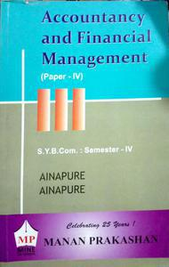 Accountancy and financial management paper 4 S.Y.B.Com semester 4