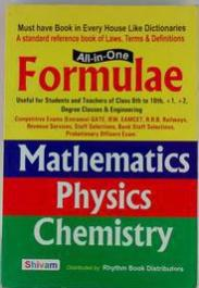 All in one formula Mathematics Physics Chemistry