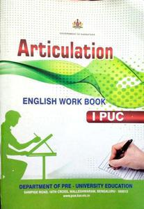 Articulation English workbook for first year pre University course