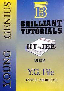 BRILLIANT TUTORIALS YOUNG GENIUS IIT-JEE STUDY MATERIAL PACK OF 3 BOOKS