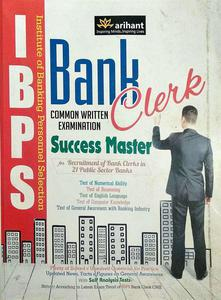 Bank clerk common written examination Success master IBPS