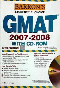 Barrons Gmat 2007-2008  By Eugne D. Jaffe,Stphen Hilbert