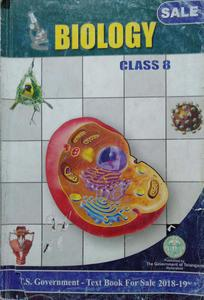 Biology for class 8 in English