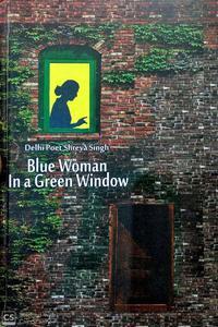 Blue Woman in a Green Window
