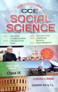 CCE Social Science Term 1 and Term 2 for class 9