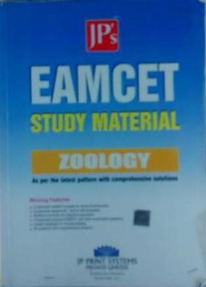 EAMCET STUDY MATERIAL ZOOLOGY AS PER LATEST PATTERN WITH COMPRENSIVE SOLUTIONS