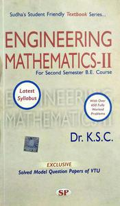 Engineering Mathematics 2 for second semester BE Course in English