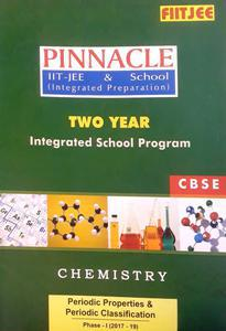 FIITJEE PINNACLE IIT-JEE AND SCHOOL (INTEGRATED PREPARATION) TWO YEAR INTEGRATED SCHOOL PROGRAM CHEMISTRY (2017-19) PACK OF 13 BOOKS