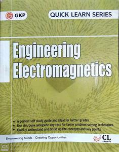 GKP Engineering Electromagnetics quick learn series